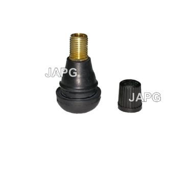 Short Tubeless Tyre Tire Valve, For Ride On Mowers Etc, TR412